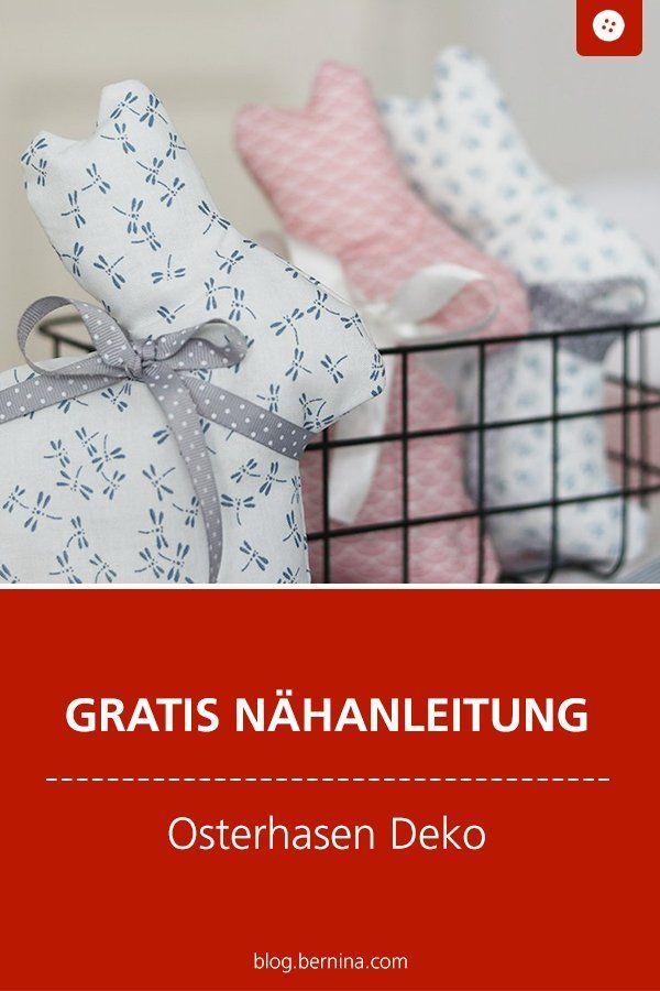 Photo of Nähen für Ostern: Niedliche Hasen aus Webware