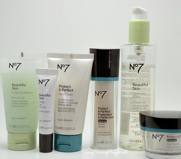 Boots No7 Woman's Normal/Oily Skin Care products are my absolute favorite! Gentle on Sensitive skin but powerful when removing and fighting oily glands