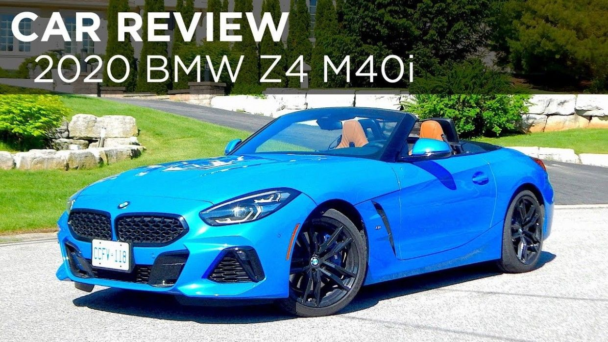 2021 BMW Z4 M Roadster Exterior and Interior
