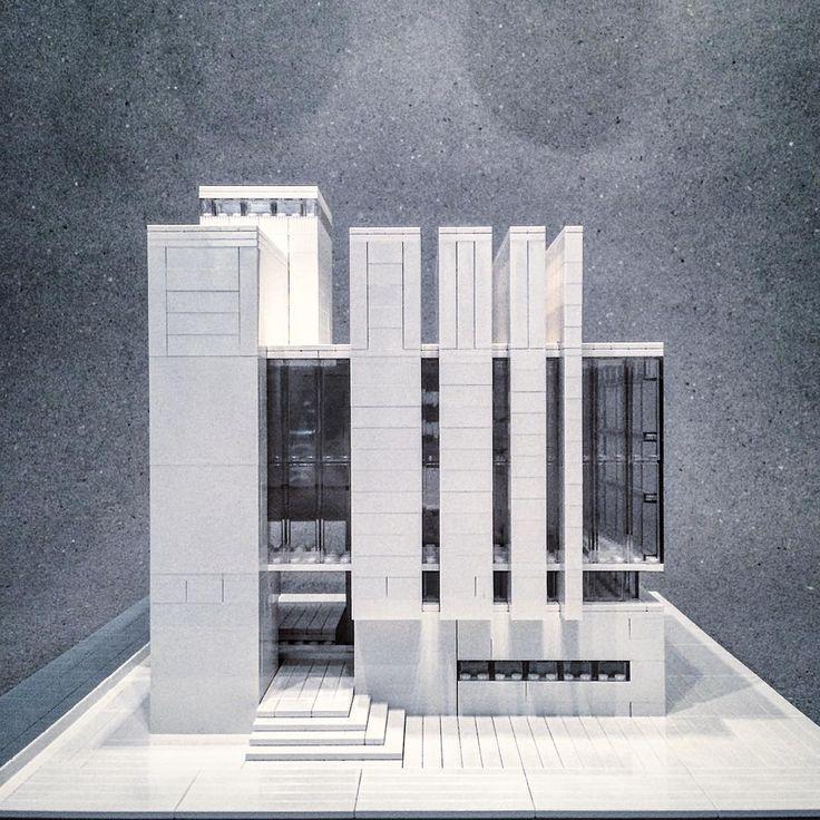 Brutalistische Architektur In Lego Nachgebaut Con Imagenes