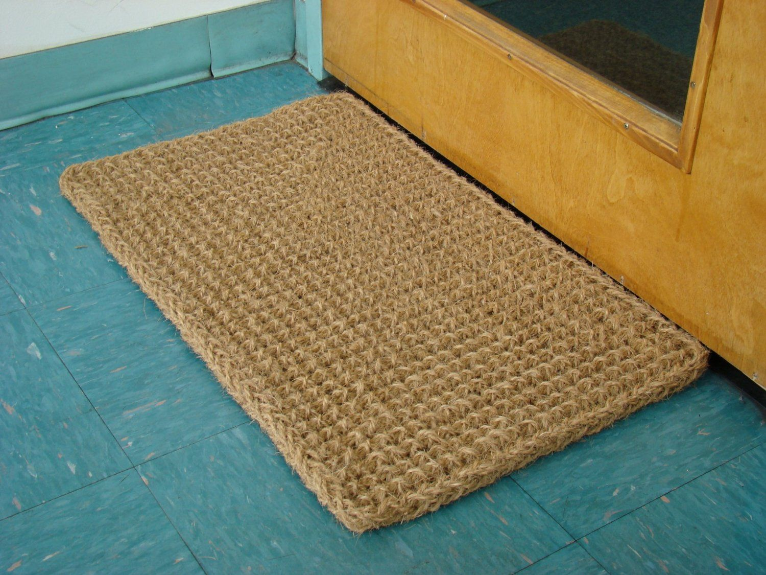 Amazon.com : Kempf Rectangle Dragon Coco Coir Doormat, 18 by 30 by ...