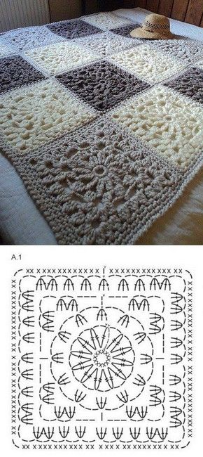 33 Patrons de Crochet pour Couvertures | Crochet et plus… … | CRAFTS -…