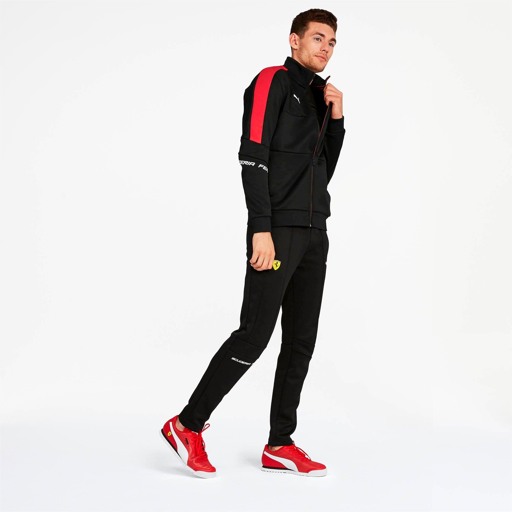 Scuderia Ferrari Men S T7 Track Jacket Puma Us Track Jackets Jackets Outerwear Jackets