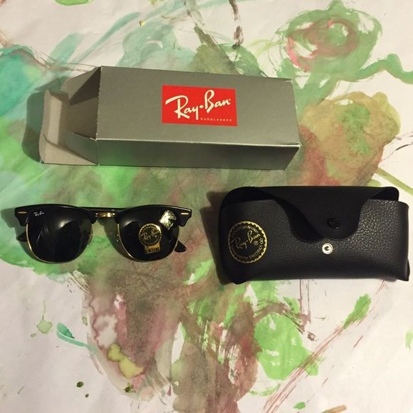 BNIB Ray Ban Clubmaster RB3016 Brand new in box. RB3016 - Clubmaster, Ebony- 3ff0a18bef