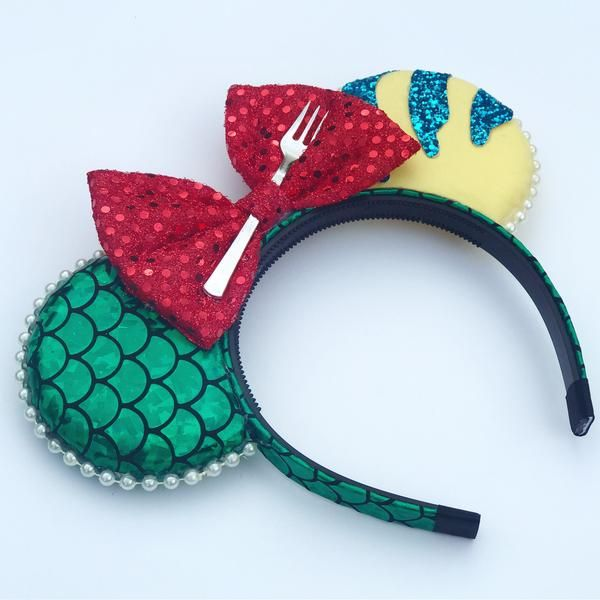 Under The Sea Inspired Mickey Ears