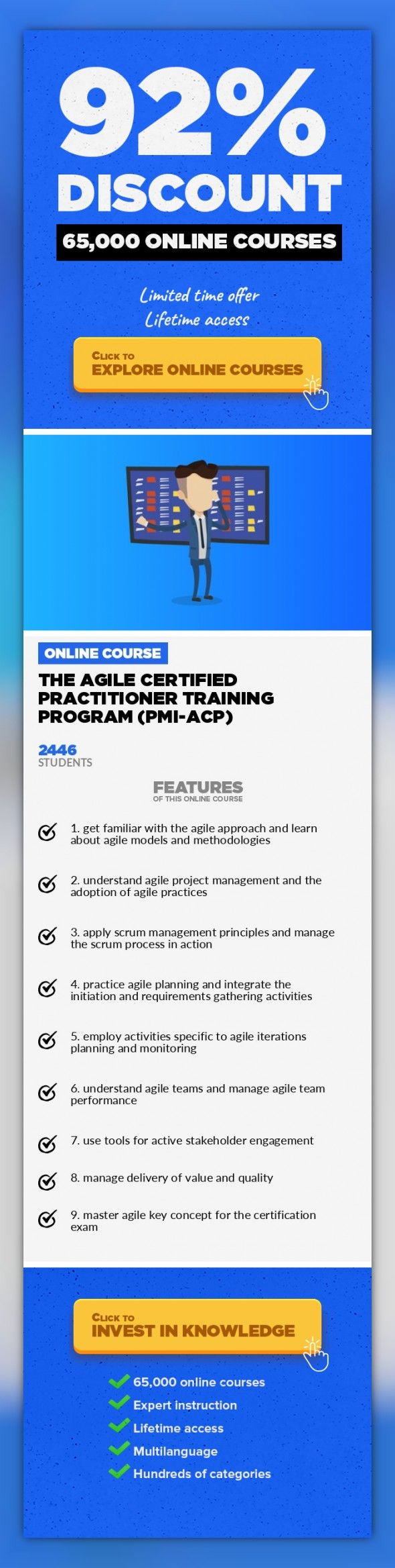 The Agile Certified Practitioner Training Program Pmi Acp Project