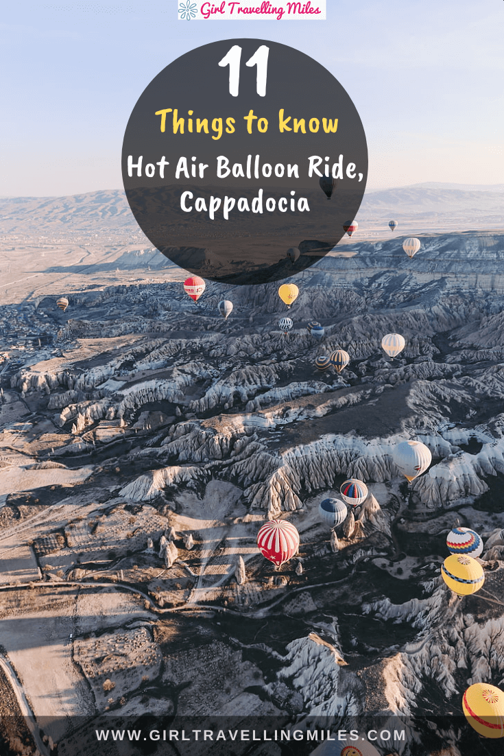 11 Things to know before Hot Air Balloon Ride in
