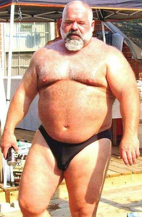 Fat hairy gay men