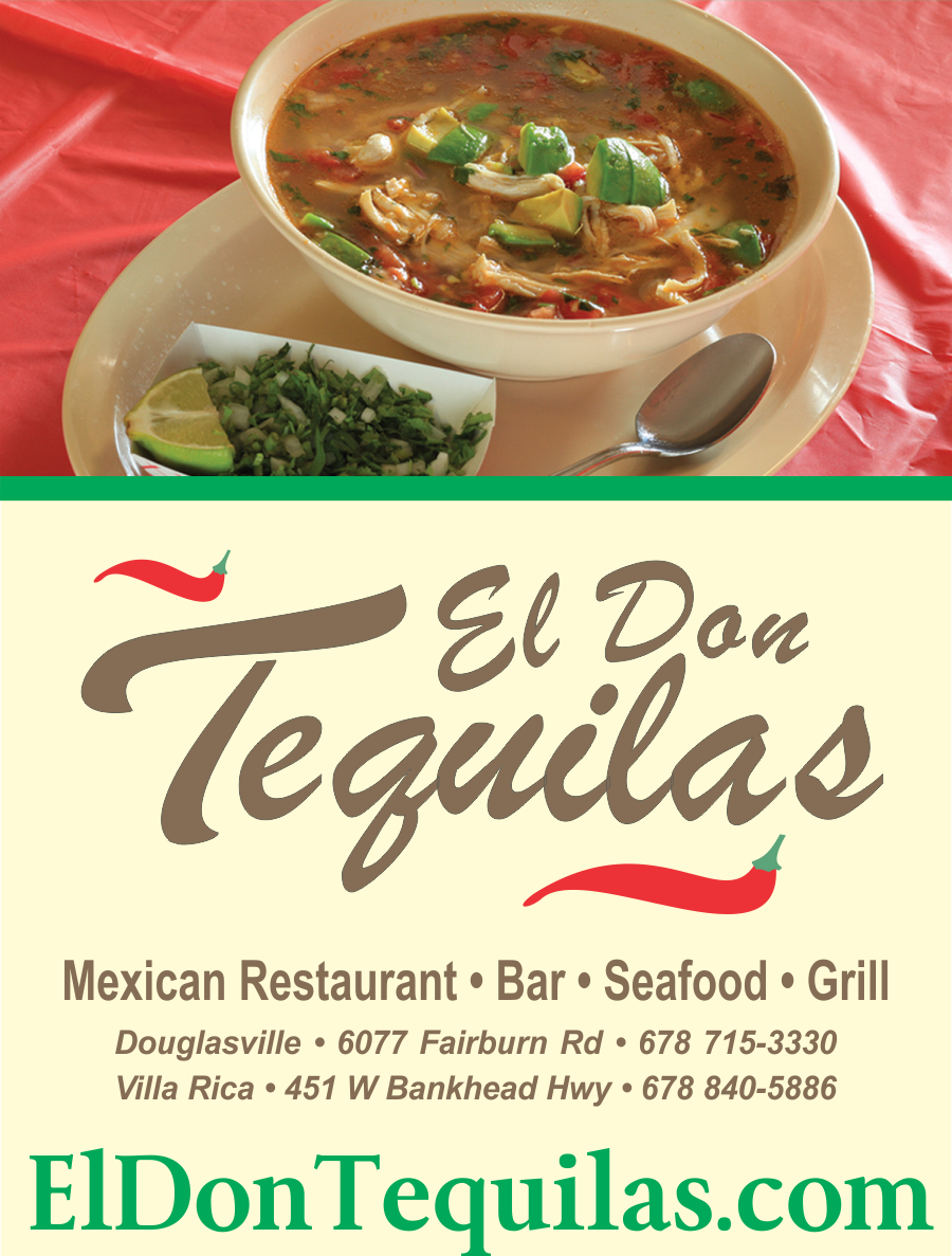 El Don Tequilas Restaurant Of Douglasville Ga Serves The Most Delicious And Authentic Mexican Fare