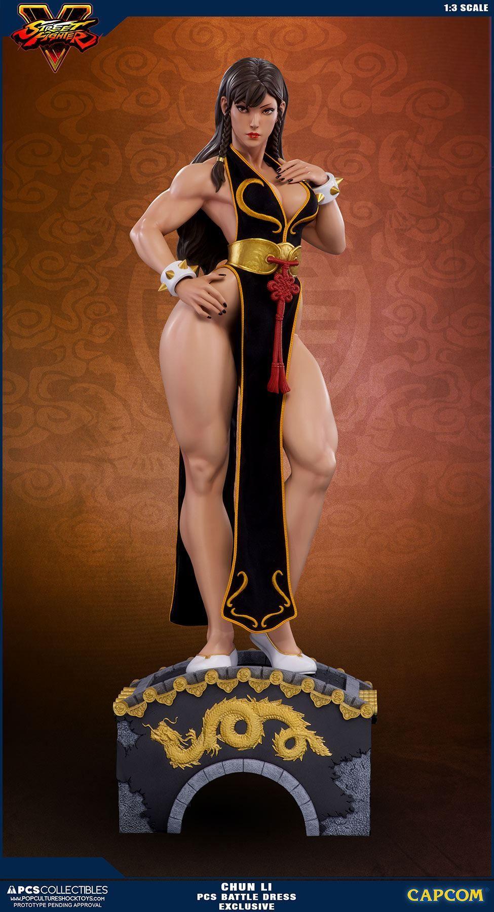 Chun Li 1 3 Legacy Set Ex Street Fighter Chun Li Statue