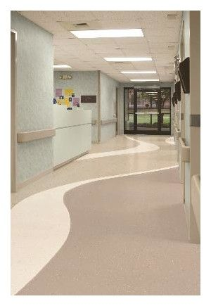 Arcade Rubber Sheet By Tarkett Built Environment Hospital Interior Design Healthcare Interior Design Hospital Interior