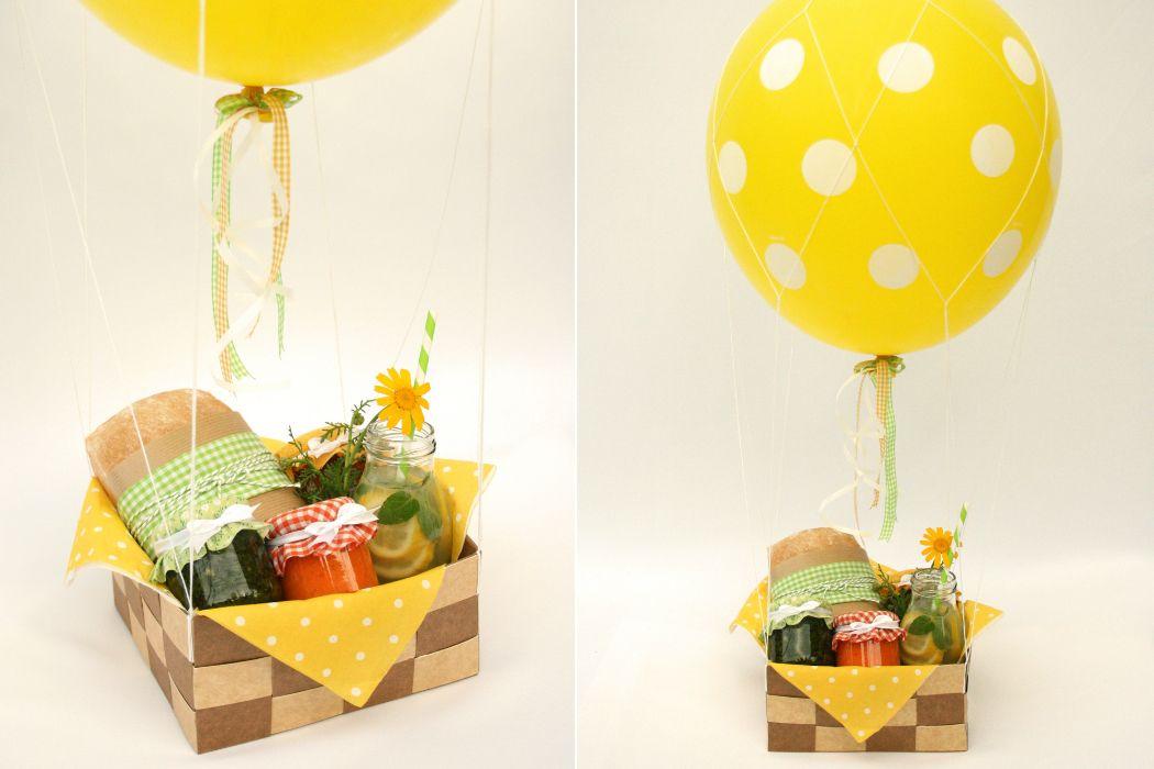 Hot Air Balloon Original Shalach Manot Idea Winner Of Cafe