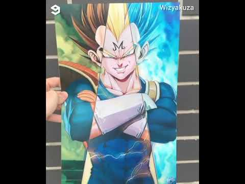3d Lenticular Art Posters Wizyakuza Youtube Poster Art Art Poster