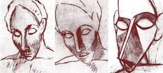 Resultado de imagen para las señoritas de avignon bocetos