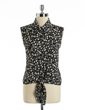 20d8925cb0 ARK & CO Sleeveless Animal Print Blouse on shopstyle.com | Style ...