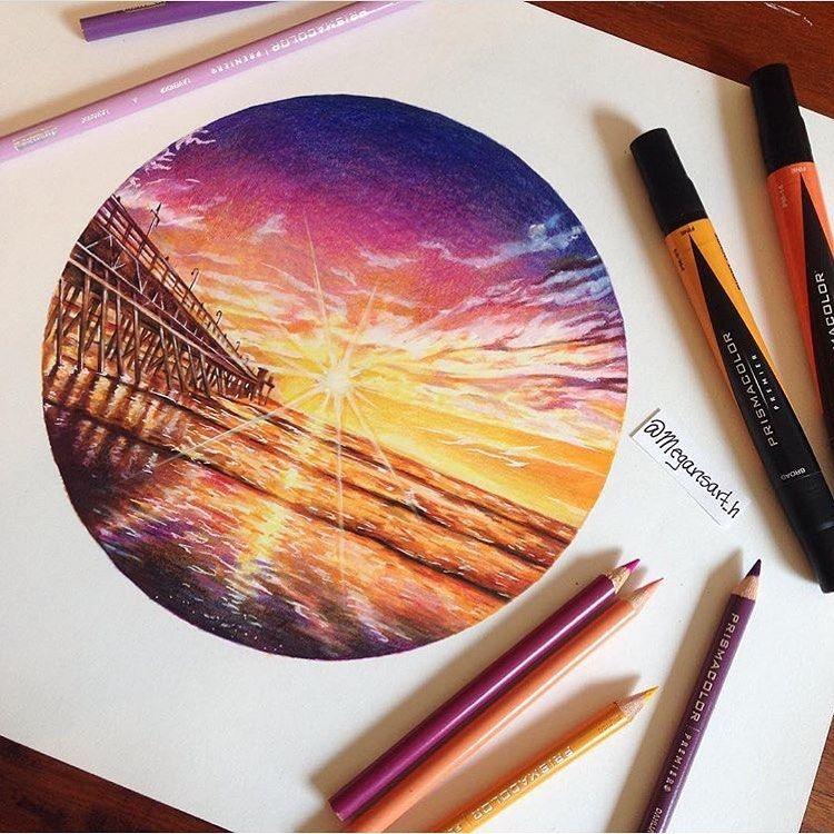 Realistic Colourful Drawings Panosundaki Pin