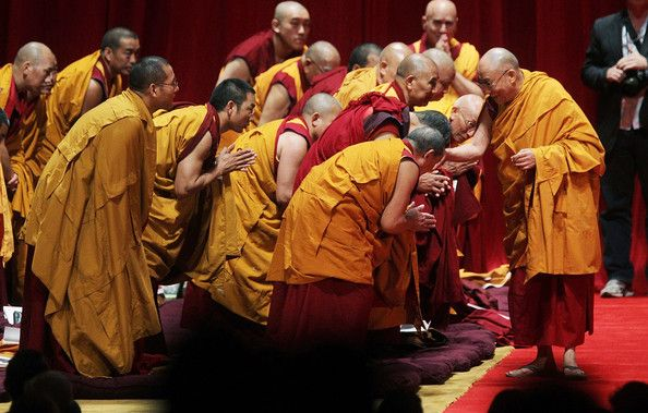 The Dalai Lama Holds 3 Days Of Teachings At Nyc S Radio City Music