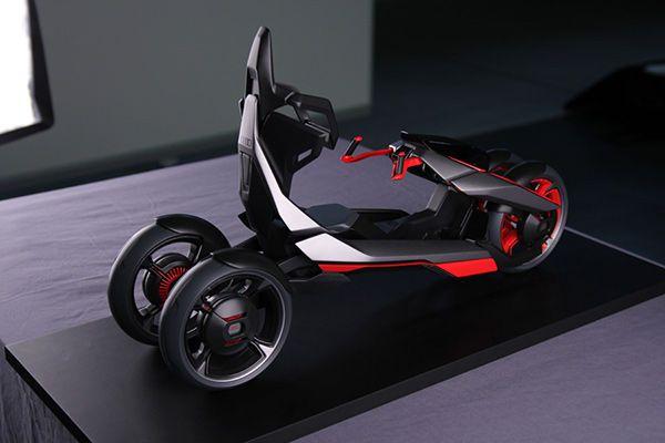 Urban Car Bike Hybrids Concept Cars Audi Futuristic Motorcycle