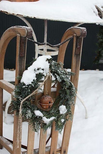Schlitten weihnachtsideen weihn for Weihnachtsideen dekoration