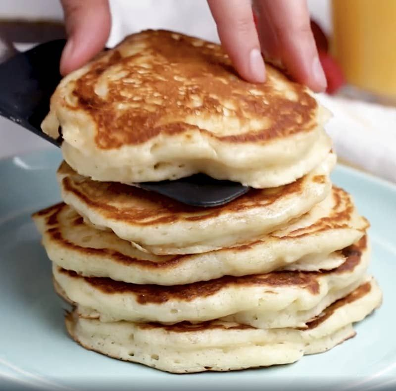 The 10 Second Trick For Making Pancakes Extra Fluffy Not Flat How To Make Pancakes Extra Fluffy Pancakes Super Fluffy Pancakes