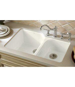 Cast Iron Undermount Kitchen Sinks kitchen sinks undermount |  executive chef cast iron double