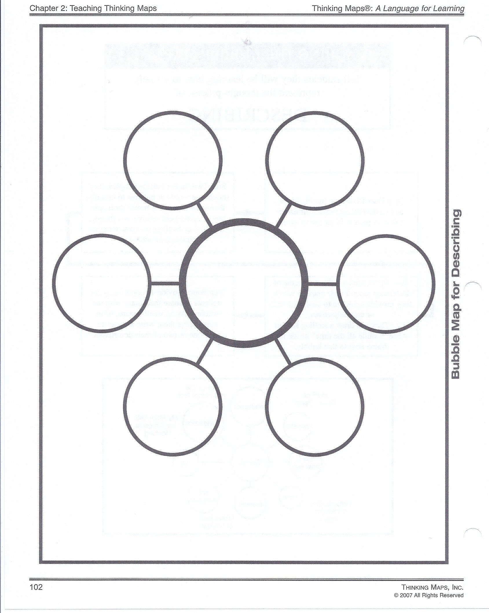 Spider Diagram Template Virtren Com