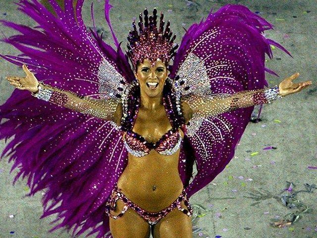 RED Mirror Headpiece-Show Girl Feather Headdress,Carnival Costume-Brazilian Rio Costume.Drag queen Carnival-View www.SambaDrome.com.au