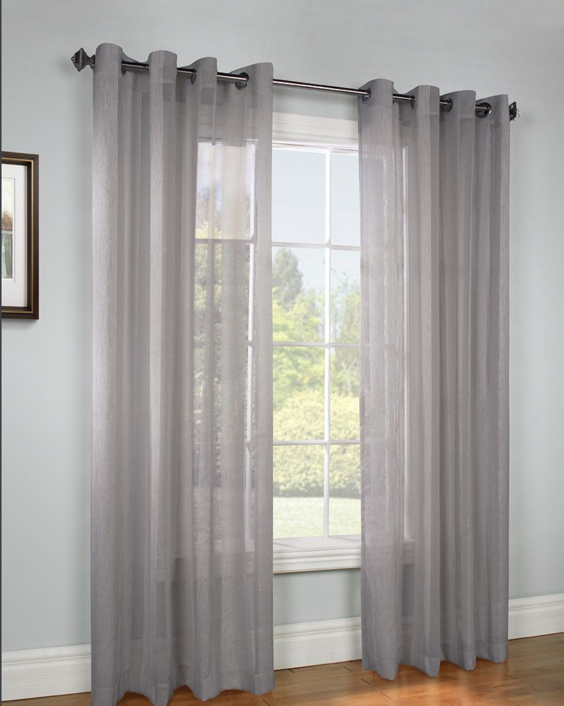 Dress Your Windows In A Understated Elegance Stella Semi Sheer