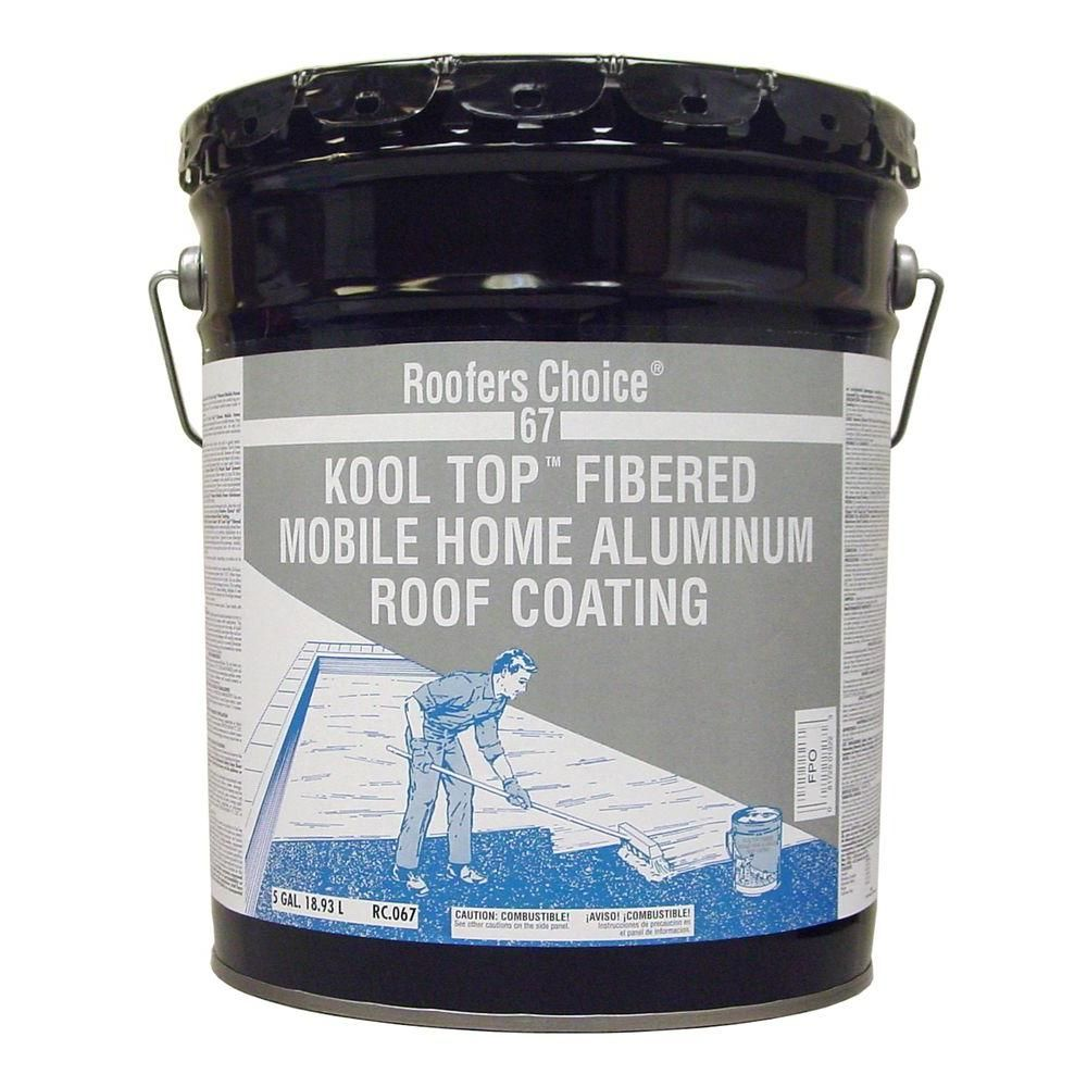 Roofers Choice 4.75Gal. Mobile Home Aluminum Coating