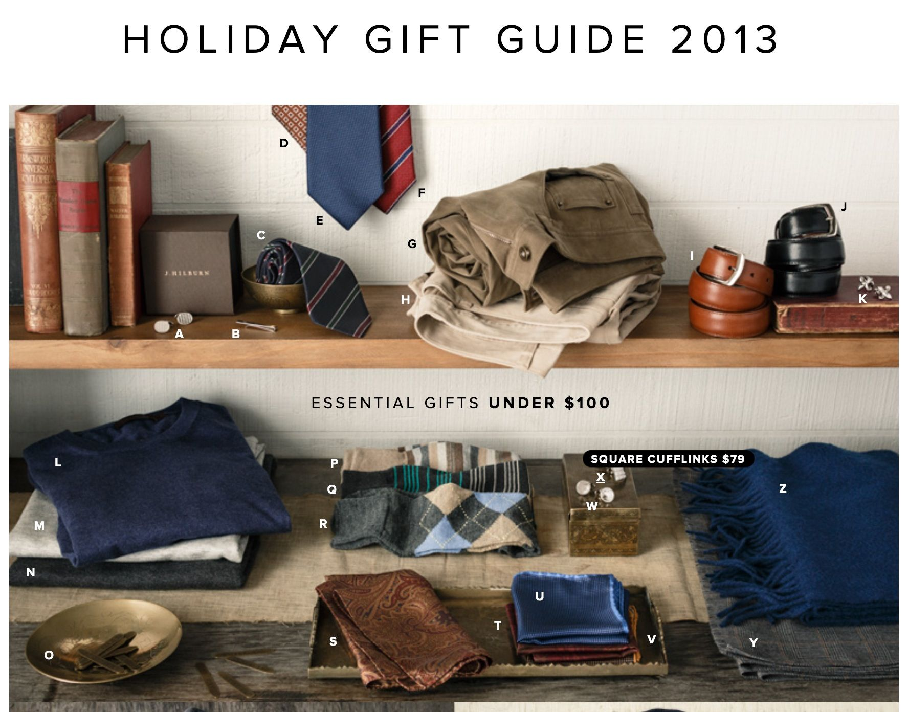 J. Hilburn offers an assortment of gifts for men for under $100. Shop now at http://richardaldrich.jhilburn.com #jhilburn #jhilburnco #jhilburnstyle #style #gifts #holidays #christmas #mensstyle #mensclothing #menswear