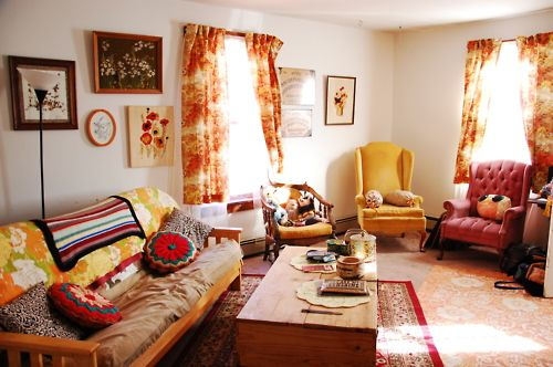 Captivating Kitschy Living, U201ctalisman : This Is My Kitschy Living Room! U201c .