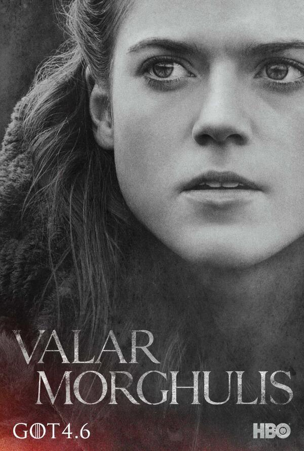Ygritte. #ValarMorghulis #GoTSeason4 #RosieLeslie