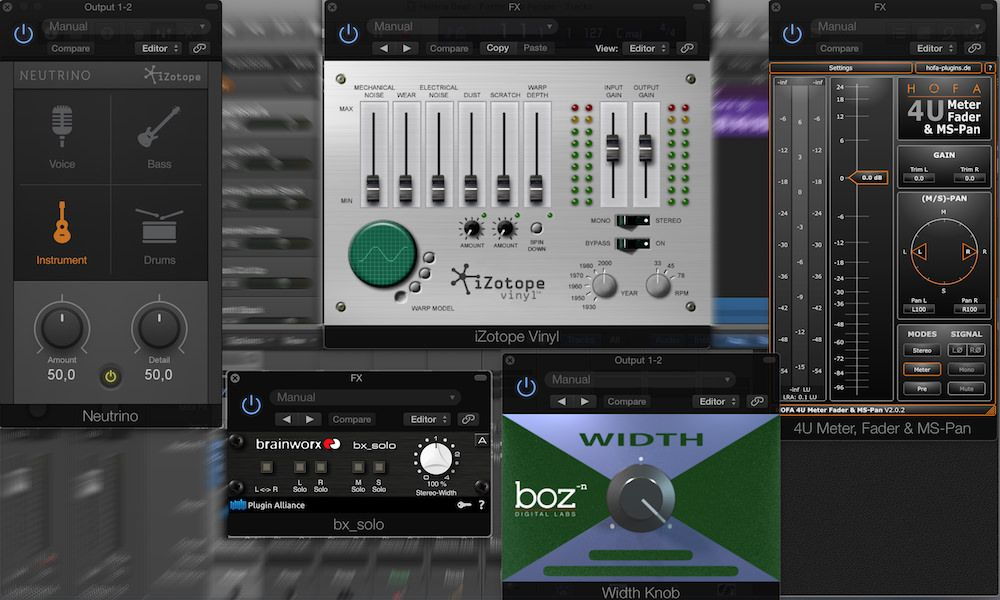 Here's an easy to browse list of free plugins for Logic Pro  Most