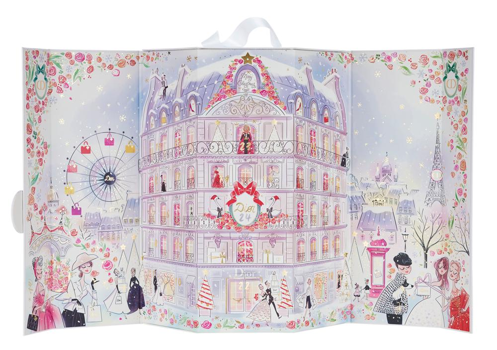Calendrier De Lavant Dior.Calendrier De L Avent Dior 2016 Illustre Par Magalie F