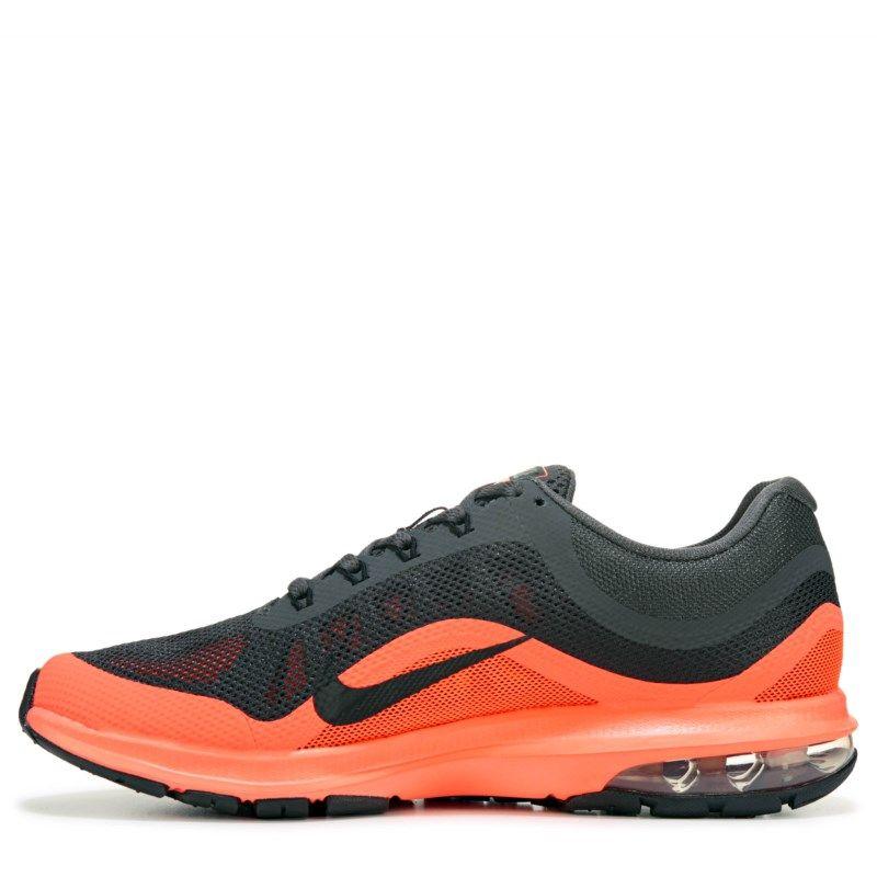 977dc83d81b Nike Men s Air Max Dynasty 2 Running Shoes (Dark Grey Orange) - 10.5 M