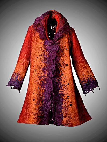 Shakesphere Euro Coat: Candiss Cole: Wool Jacket - Artful Home