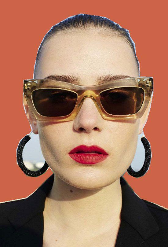 13c25ab203379 Celine Eva rectangle-frame sunglasses 2016