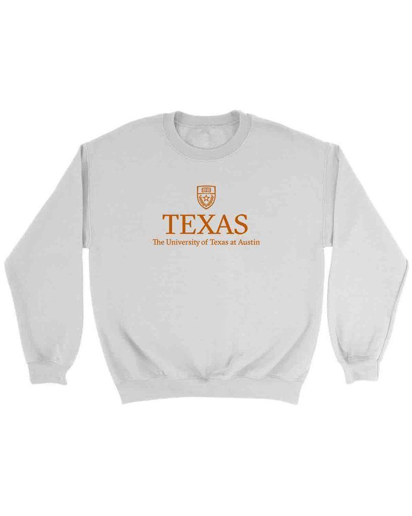 Texas The University Of Texas At Austin Sweatshirt Sweatshirts Austin Shirt University Of Texas [ 1024 x 819 Pixel ]