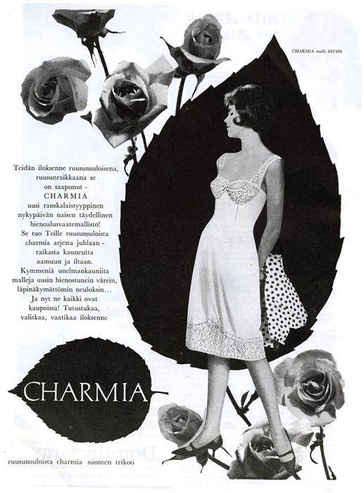 Suomen Trikoo, Charmia - Eeva 4/1962