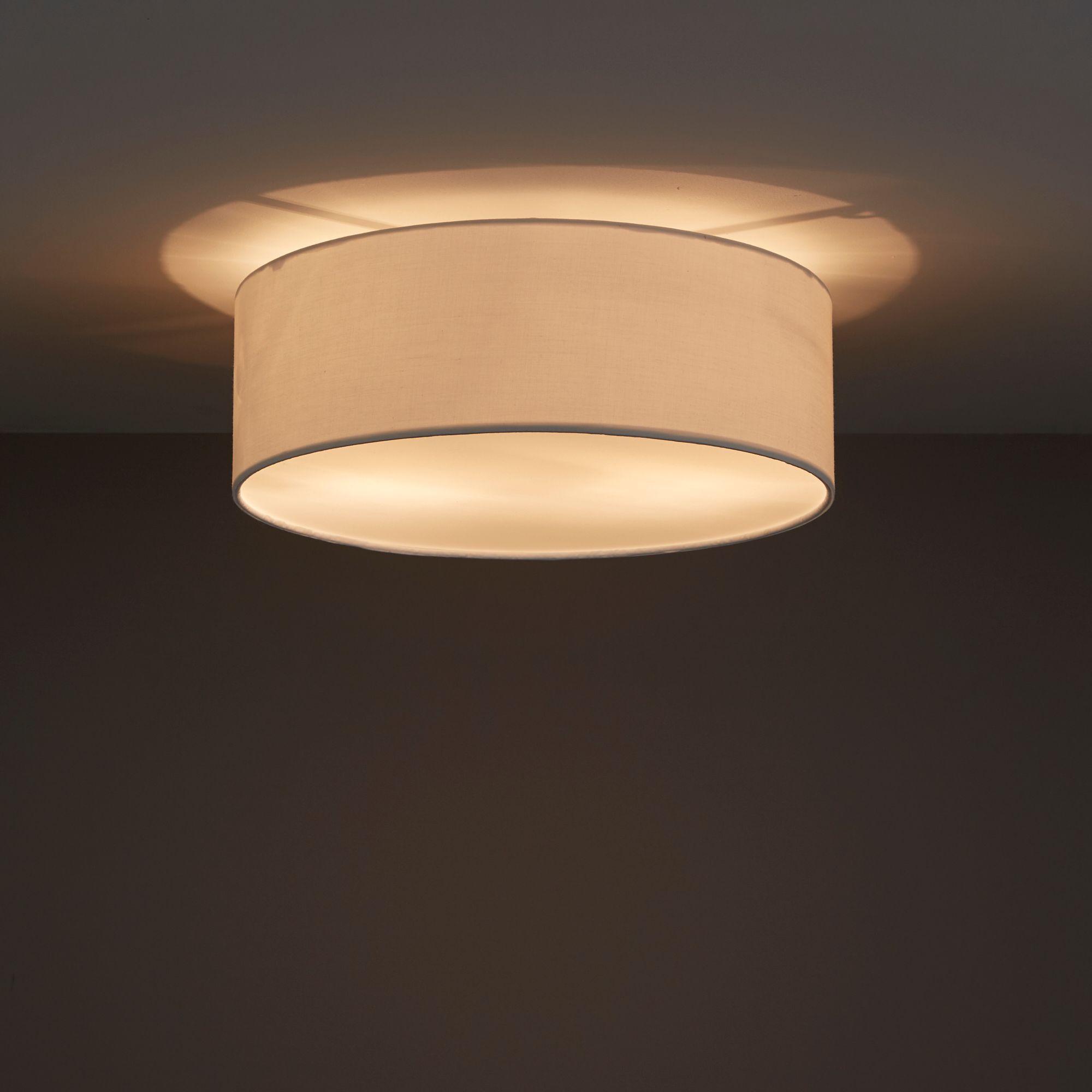 Soranus Cream 2 Lamp Ceiling Light Departments Diy At B Q Installing Recessed Lighting Ceiling Lights Diy Ceiling Lights