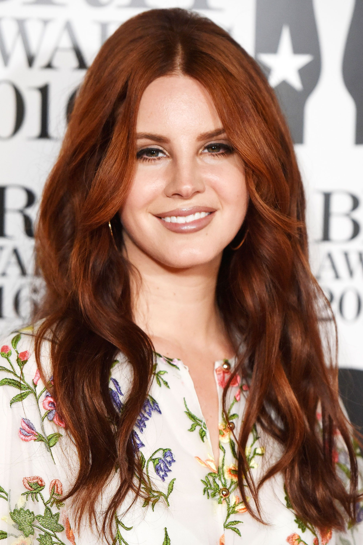 celebrities who do auburn hair right hair pinterest lana