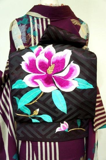Floral Embriodered Obi