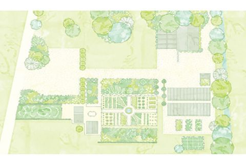 Use These Garden Layout Ideas to Create a Vibrant Backyard is part of Cottage garden plan, Garden planning, Garden layout, Raised garden bed plans, Garden design layout, Cottage garden plants - There's something in here for spaces of all sizes