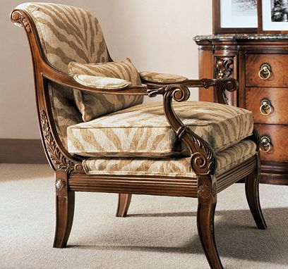 Ferguson Chair from the Henredon Upholstery collection by Henredon