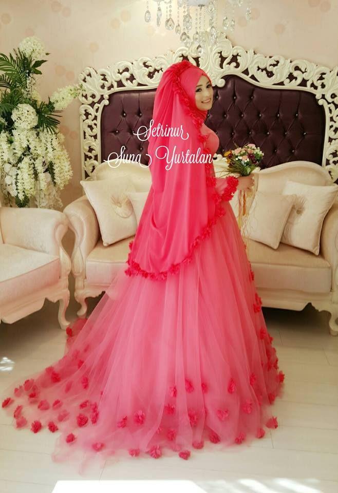 Pretty bride..   HIJABI❤️QUEEN   Pinterest