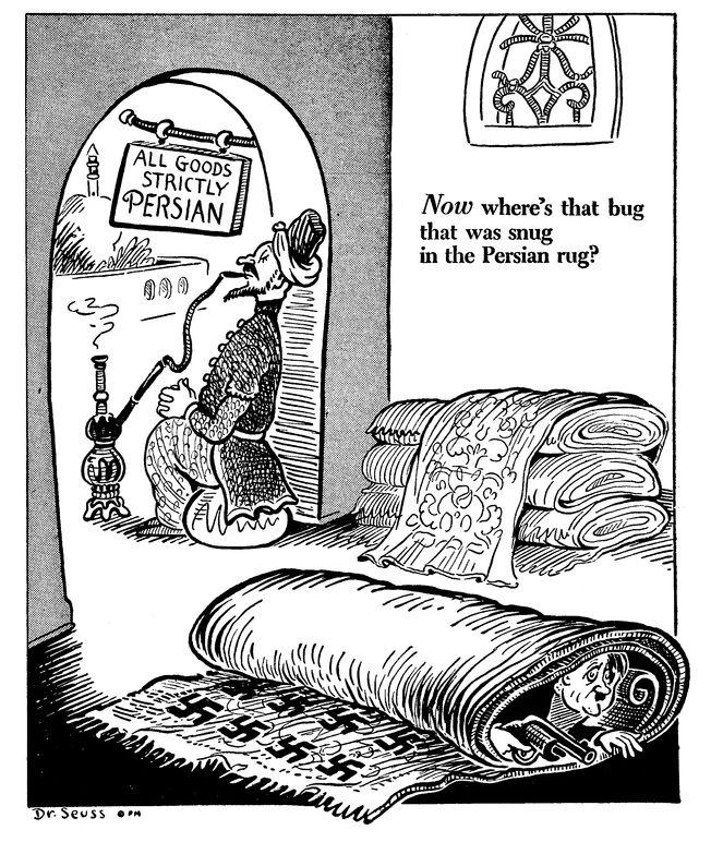11 Interesting World War II-Era Cartoons By Dr. Seuss