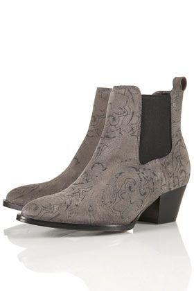 PAISLEY Printed Western Boots