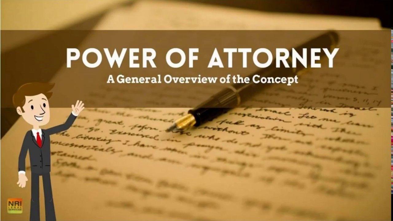 Power of attorney powerofattorney poa spa gpa