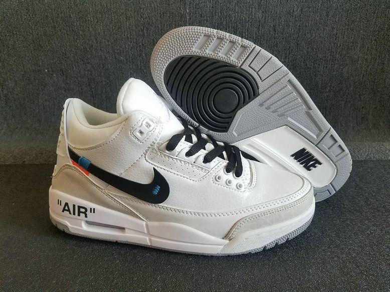 sports shoes e984b 07d51 Off-White X Air Jordan 3 White | New Arrival Sneakers | Air ...