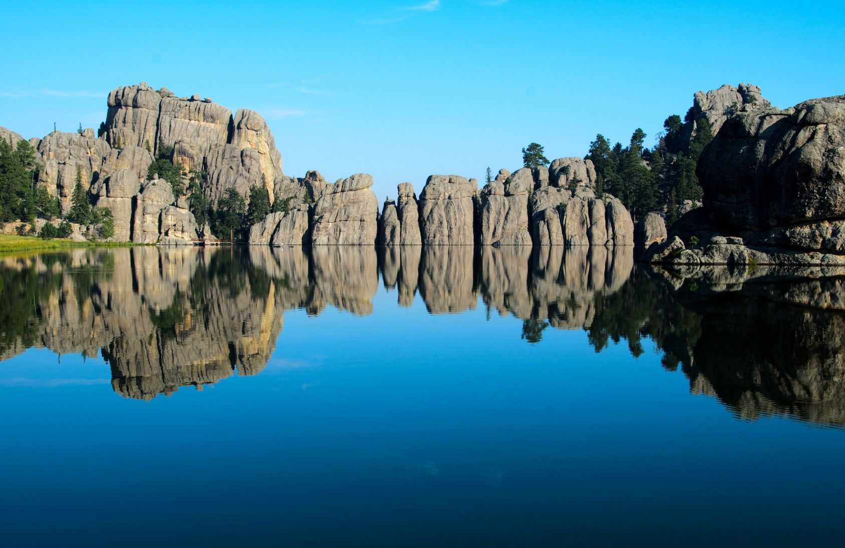 sylvan lake in custer state park sd we drove by this lake on our